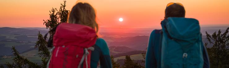 Sonnenaufgang am Hutwisch
